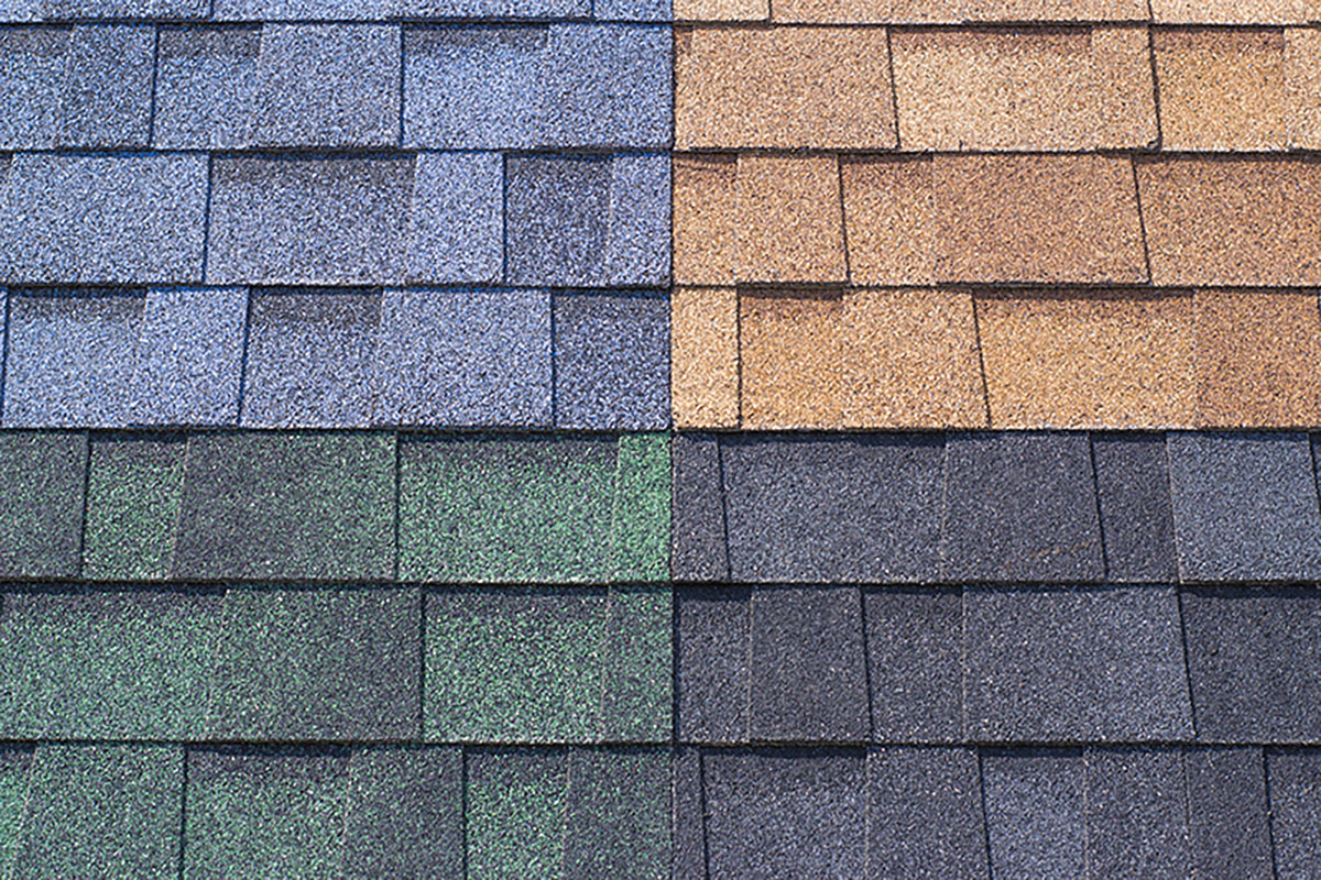 color shingles